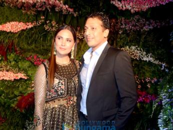 Celebs grace Anushka Sharma - Virat Kohli's Mumbai reception