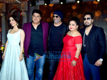 Celebs snapped at the finale shoot of The Great Indian Laughter Challenge