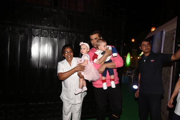 Check out Karan Johar's twins Yash and Roohi have a blast at Tusshar Kapoor's son Laksshya's Christmas party (2)