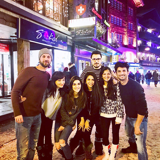 Check out Sushant Singh Rajput and Kriti Sanon vacation together in Switzerland (1)