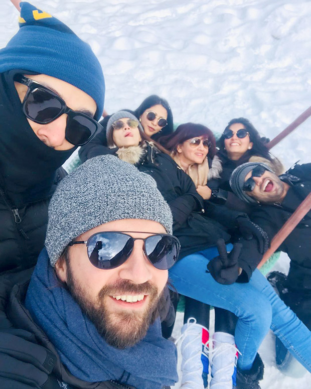 Check out Sushant Singh Rajput and Kriti Sanon vacation together in Switzerland (2)