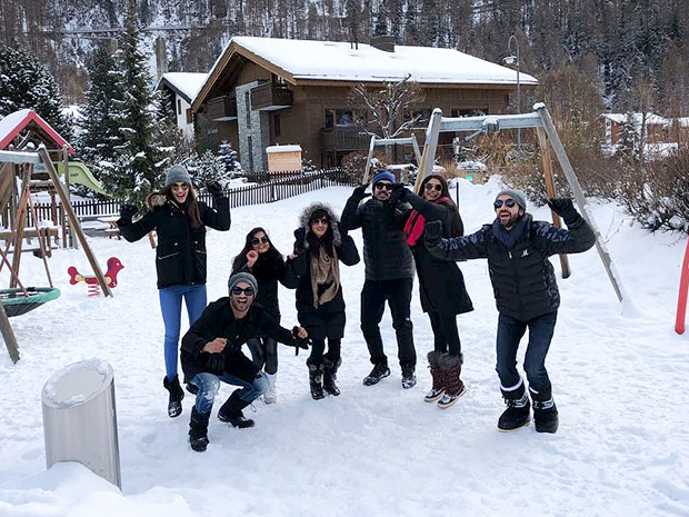 Check out Sushant Singh Rajput and Kriti Sanon vacation together in Switzerland (4)