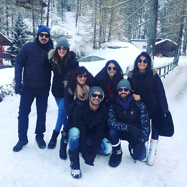 Check out Sushant Singh Rajput and Kriti Sanon vacation together in Switzerland (5)
