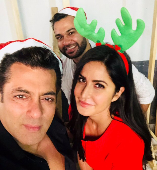 Check out Tiger Zinda Hai stars Salman Khan and Katrina Kaif look the happiest during Christmas (1)