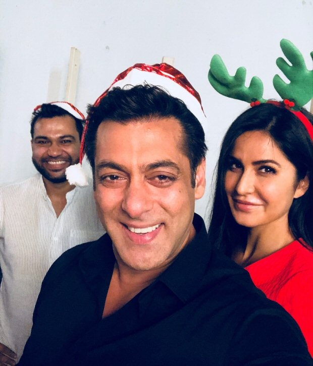 Check out Tiger Zinda Hai stars Salman Khan and Katrina Kaif look the happiest during Christmas (2)
