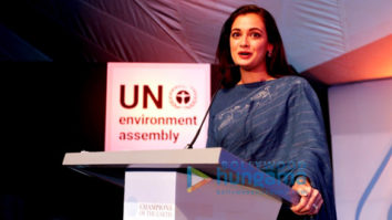 Dia Mirza hosts the Earth Champs Awards at the UN Environment Assembly in Nairobi, Kenya