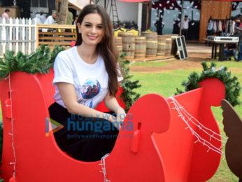 Evelyn Sharma, Elli AvrRam at 'Seams For Dreams' Christmas Garage Sale