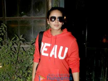 Huma Qureshi snapped at Pali Village Cafe