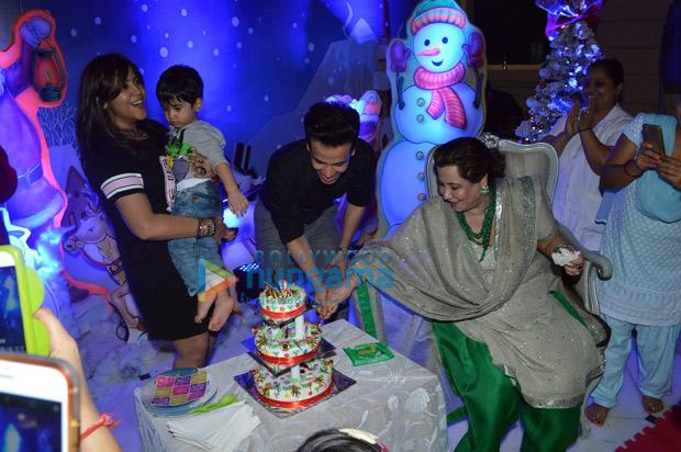 INSIDE PHOTOS Ekta Kapoor becomes Santa Claus for Lakshya, Roohi aYash