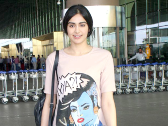 Jacqueline Fernandez, Ibrahim Ali Khan and Adah Sharma snapped at the airport