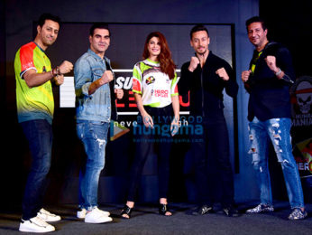 Jacqueline Fernandez, Tiger Shroff, Arbaaz Khan and others at Super Fight League press meet