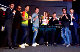 Jacqueline Fernandez, Tiger Shroff, Arbaaz Khan and others at Super Fight League press meet