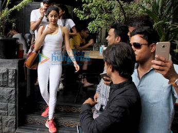 Janhvi Kapoor spotted at Kitchen Garden