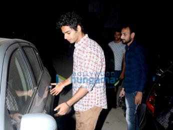 Janhvi Kapoor and Ishaan Khatter spotted having dinner at Shahid Kapoor's home
