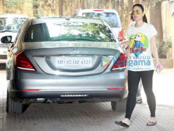 Kareena Kapoor Khan snapped at gym