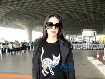 Karisma Kapoor, Irrfan Khan, Shamita Shetty and Kanika Kapoor snapped at the airport
