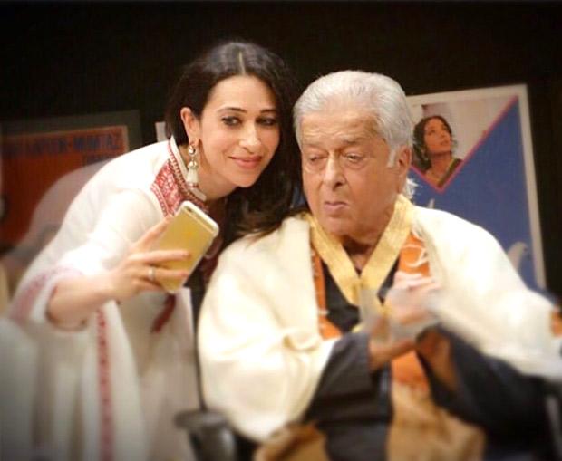 Karisma Kapoor and Neetu Kfarewell to late actor Shashi Kapoor!