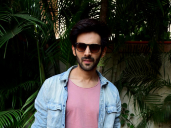 Kartik Aaryan spotted at Andheri