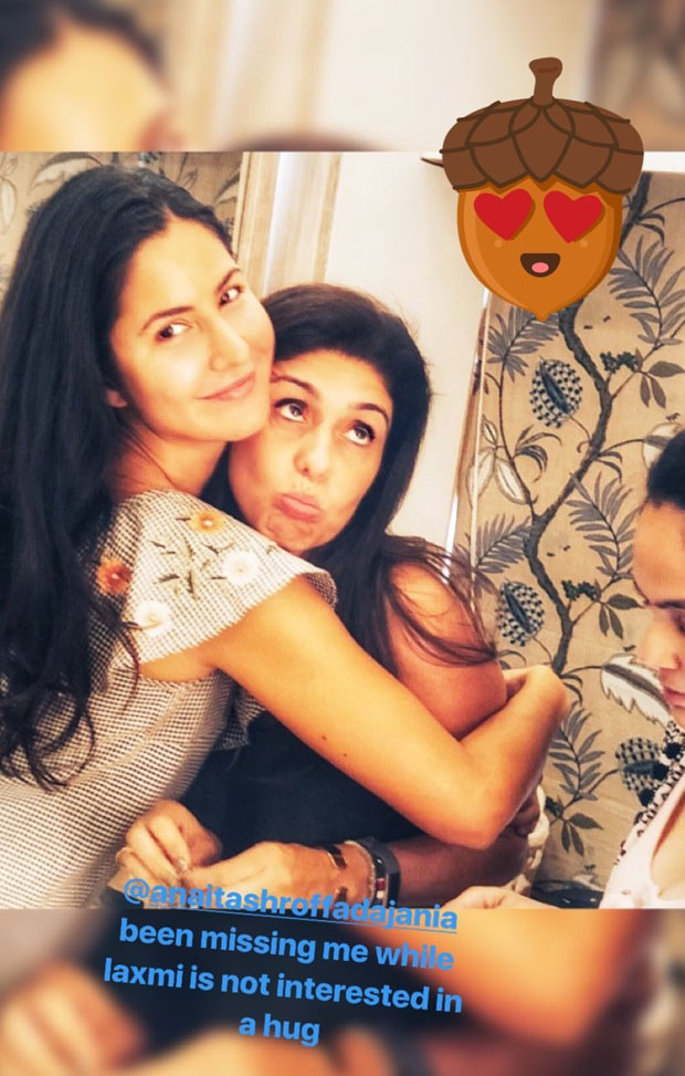 Katrina Kaif gives a warm hug to Anaita Adajania and it is adorable! feature