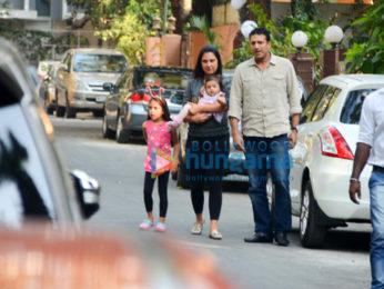 Lara Dutta spotted in Bandra