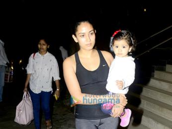 Mira Rajput and Misha Kapoor snapped at Bandra