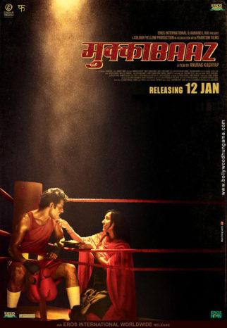 First Look Of The Movie Mukkabaaz