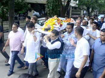 Neeraj Vora's funeral
