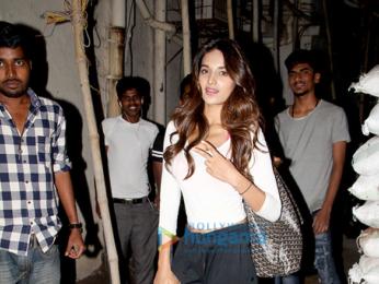 Nidhhi Agerwal spotted at Sunnyday Spa