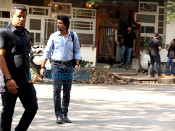 Nikhil Dwivedi snapped in Juhu