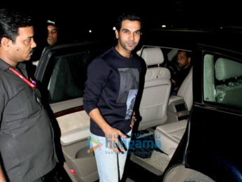 Rajkummar Rao snapped at Vidhu Vinod Chopra's office in Santacruz