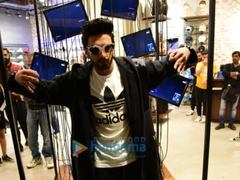 Ranveer Singh inaugurates new store and new sneaker of Adidas in Delhi