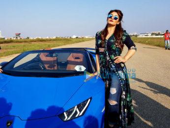 Raveena Tandon attends India speed week round 2 in Bengaluru
