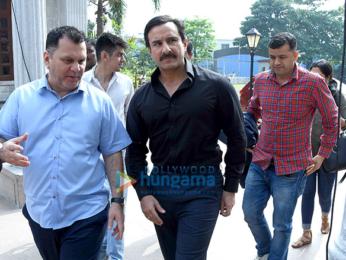 Saif Ali Khan, Vinod Kambli at 'T20 Mumbai League' Launch