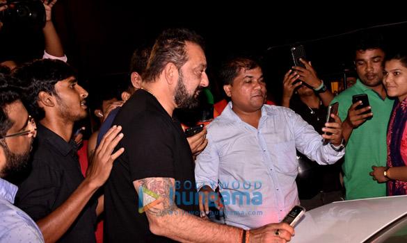 Sanjay Dutt at Karan Tyagi marriage anniversary
