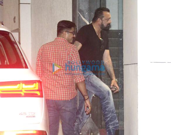 Sanjay Dutt snapped at Ashutosh Gowarikar's office in Khar