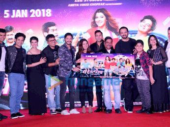 Shreyas Talpade and Rohit Shetty at the audio release of Marathi film 'Yere Yere Paisa'