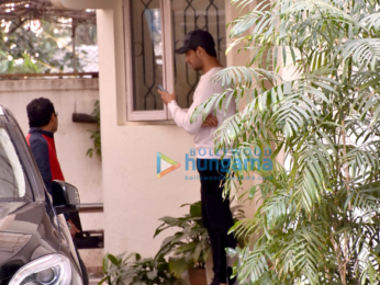 Sidharth Malhotra snapped at Sunny Super Sound