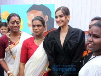 Sonam Kapoor at 'We The Women' session at Mehboob Studio