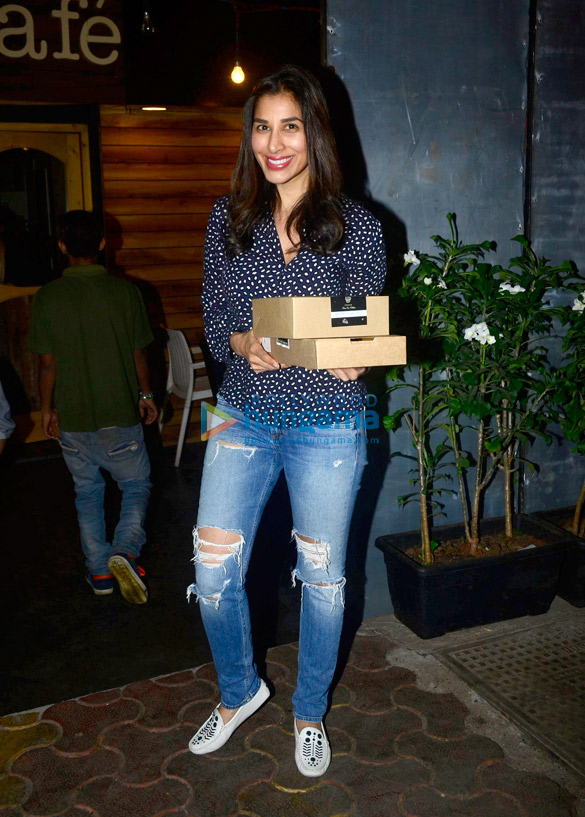 Sophie Choudry snapped in Mumbai
