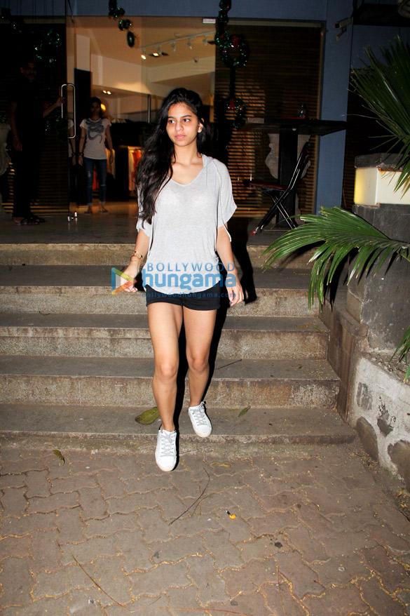 Suhana Khan snapped at Pali Hill, Bandra