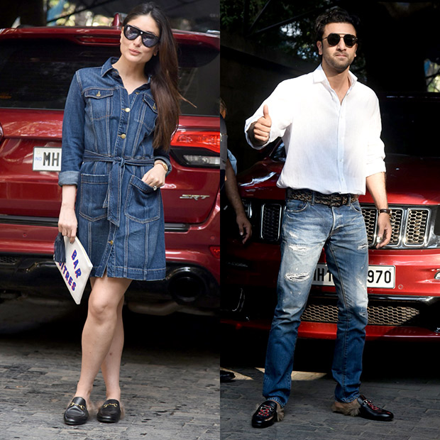 That moment when Kareena Kapoor Khan and Ranbir Kapoor twinned in Gucci and made us go Aww!