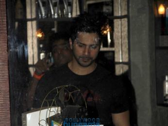 Varun Dhawan snapped at Allim Hakim's
