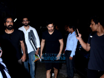 Varun Dhawan snapped with Amaal Mallik
