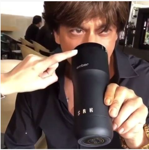 Wow Shah Rukh Khan S New Customised Mug Is Pure Swag Bollywood News Bollywood Hungama