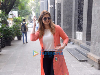 Zareen Khan and Karan Kundra snapped at the promotions of '1921'