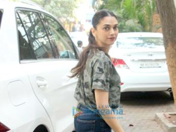 Aditi Rao Hydari spotted at Hakim's Aalim salon in Bandra