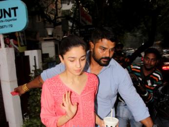 Alia Bhatt spotted at BBLUNT
