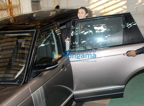 Alia Bhatt spotted at Zoya Akhtar's house