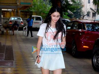 Ananya Pandey snapped in Bandra