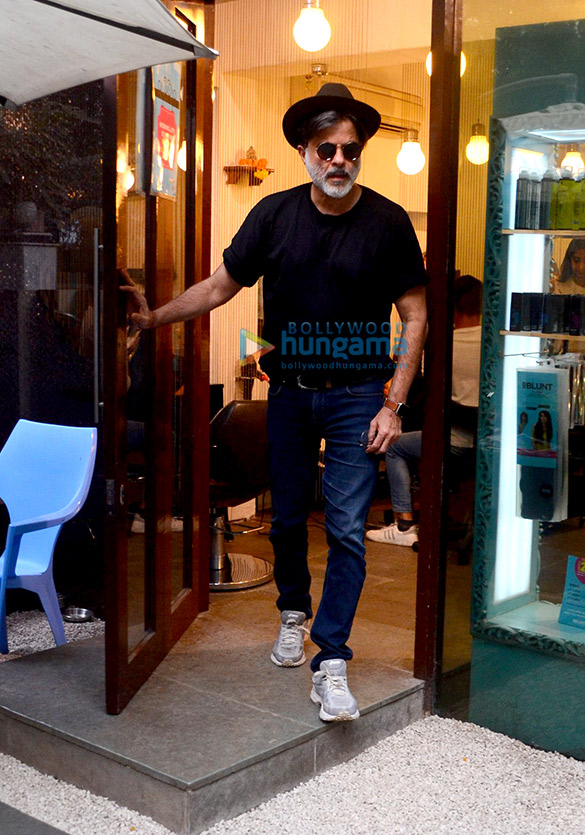 Anil Kapoor spotted at BBlunt in Bandra